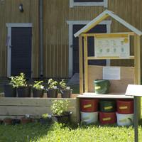 Compost starter kit.