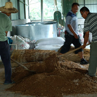 Farmers make their own microorganisms in traditional ways.